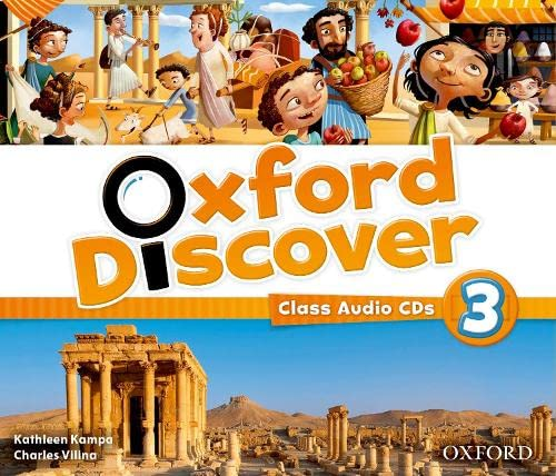 9780194279017: Oxford Discover: 3: Class Audio CDs