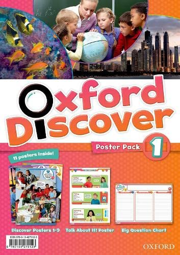 9780194279123: Oxford Discover: 1: Poster Pack