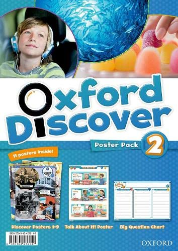 9780194279147: Oxford Discover: 2: Poster Pack
