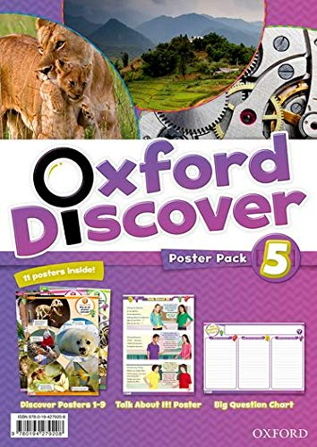9780194279208: Oxford Discover: 5: Poster Pack