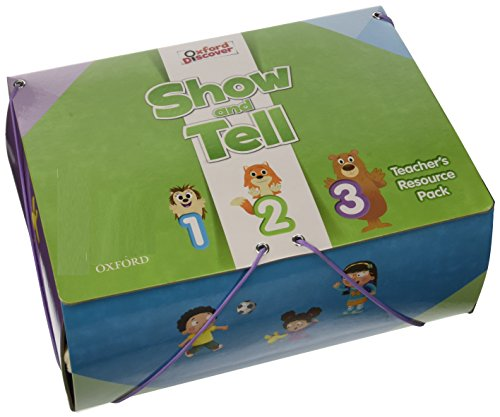 9780194279499: Oxford Show & Tell 1-3 Teachers Resource Pack Promo