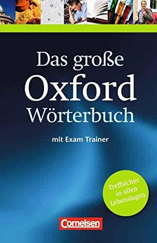 9780194300032: Das große Oxford Wörterbuch/Exam