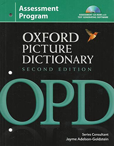 Oxford Picture Dictionary Assessment Program: Jayme Adelson-Goldstein