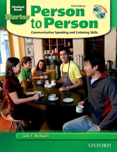 9780194302098: Person to Person: Communicative Speaking and Listening Skills: Student Book, Starter Level