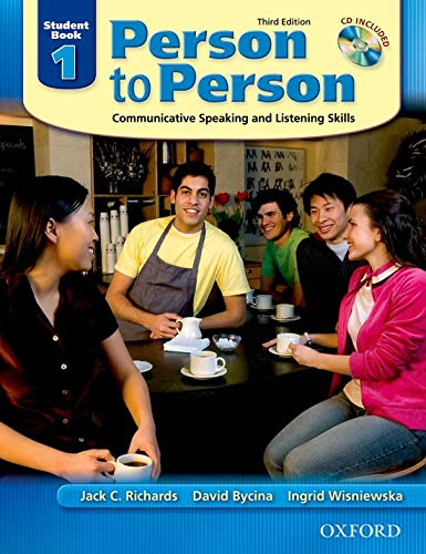 9780194302128: Person to Person: Communicative Speaking and Listening Skills, Student Book 1 (Book & Audio CD)