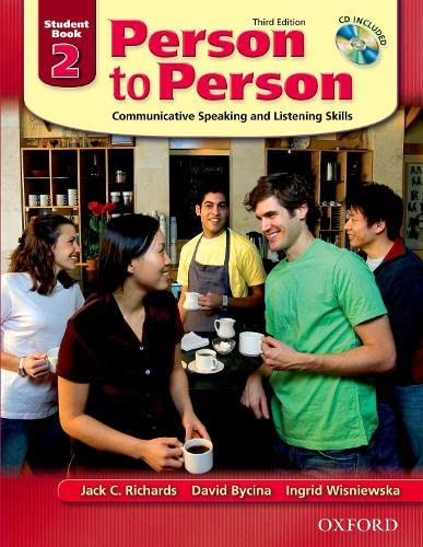 9780194302159: Person to Person: Communicative Speaking and Listening Skills, Student Book 2 (Book & Audio CD)