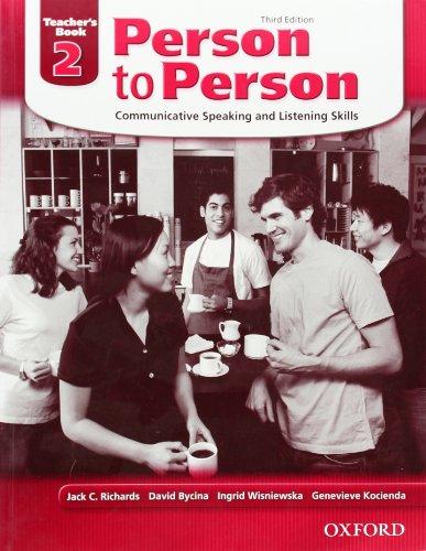 9780194302203: Person to Person, Third Edition Level 2: Teacher's Book: Teacher's Book Level 2