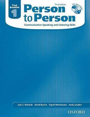 9780194302272: Person to Person: Communicative Speaking and Listening Skills- Teacher's Book 1