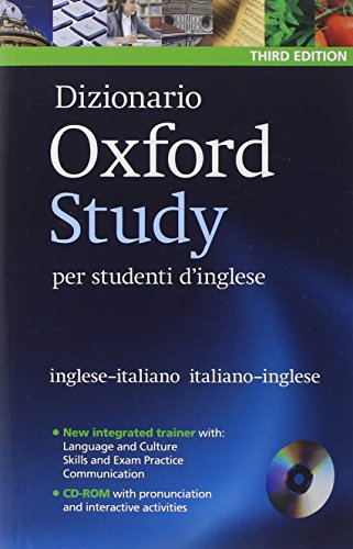9780194302999: Dizionario Oxford Study per studenti d'inglese: Updated edition of this bilingual dictionary specifically written for Italian-speaking learners of English