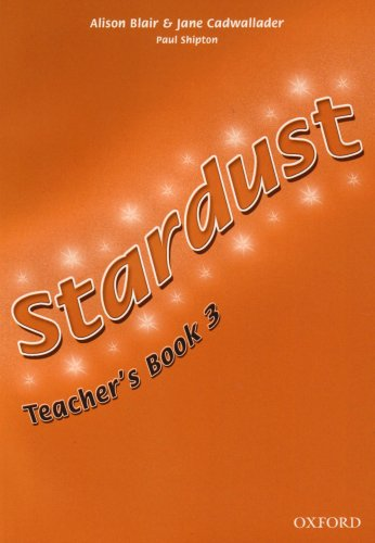 9780194303576: Stardust 3: Teacher's Book