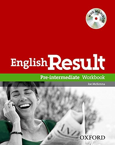 9780194304955: English Result: Pre-Intermediate: Workbook with MultiROM Pack: General English four-skills course for adults