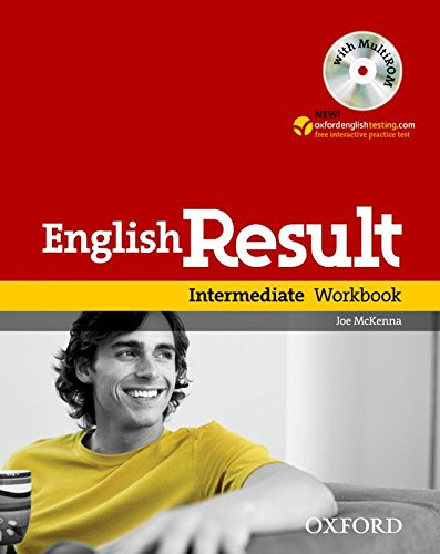9780194304962: English Result Intermediate: Workbook with MultiROM Pack: General English four-skills course for adults