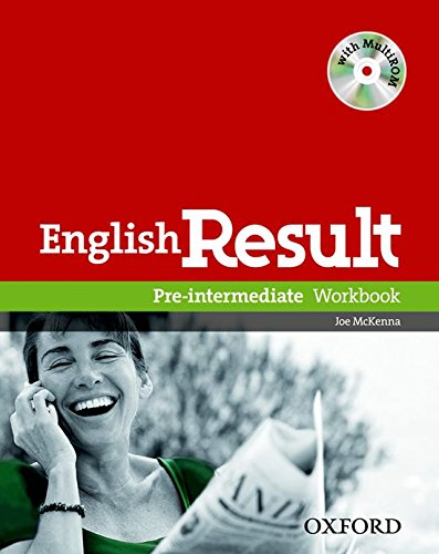9780194304993: English Result: Pre-Intermediate: Workbook with Answer Booklet and MultiROM Pack
