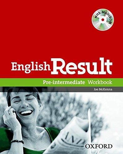 9780194304993: English result. Pre-intermediate. Workbook. With key. Per le Scuole superiori. Con Multi-ROM