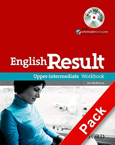 9780194305013: English Result: Upper-Intermediate: Workbook with Answer Booklet and MultiROM Pack: General English four-skills course for adults