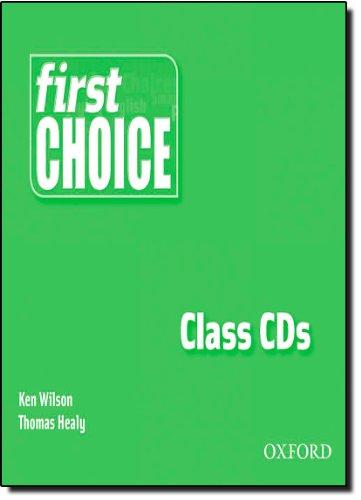9780194306263: First Choice Class Audio CDs (Smart Choice)