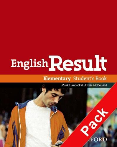 9780194306591: English Result: Elementary: Teacher's Resource Pack with DVD and Photocopiable Materials Book: General English four-skills course for adults