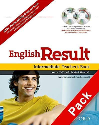 9780194306614: English Result: Intermediate: Teacher's Resource Pack with DVD and Photocopiable Materials Book: General English four-skills course for adults