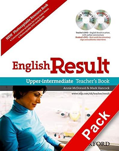 English Result Upper-intermediate: Teacher's Resource Pack with: Hancock, Mark; McDonald,