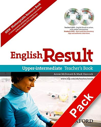 9780194306621: English Result: Upper-Intermediate: Teacher's Resource Pack with DVD and Photocopiable Materials Book: General English four-skills course for adults
