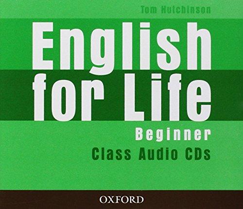 9780194307413: English for Life Beginner. Class Audio CD (3)