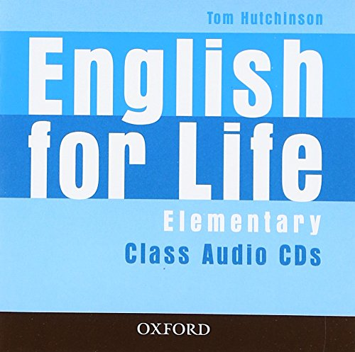 9780194307420: English for Life Elementary: Class Audio CD (3)