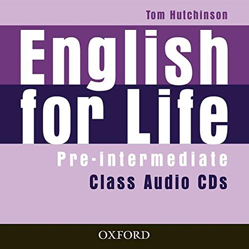 9780194307437: English for Life: Pre-intermediate: Class Audio CDs