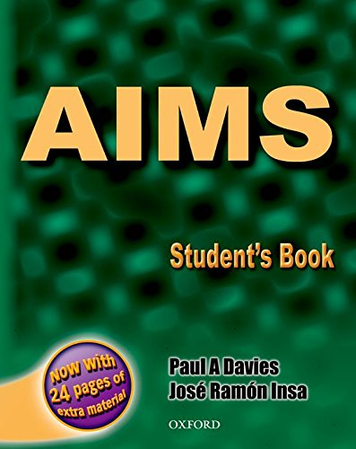 9780194308403: Aims sb with extra practice material