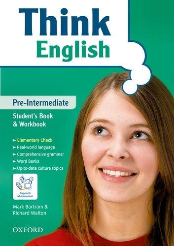 9780194308526: Think english. Pre-intermediate. Per il Liceo classico