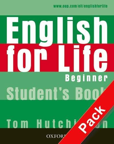 9780194308885: English for life. Beginner. Per le Scuole superiori