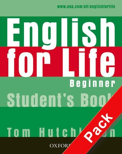 9780194308892: English for life. Beginner. Multipack. Student's book-Workbook. Con espansione online. Per le Scuole superiori. Con CD-ROM