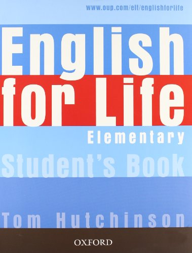 9780194308915: English for life. Elementary. Multipack. Student's book-Workbook. Con espansione online. Per le Scuole superiori. Con CD-ROM