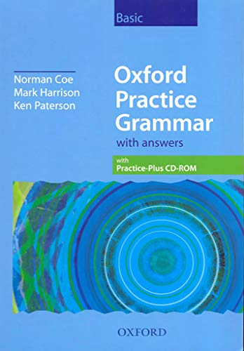 9780194309141: Oxford Practice Grammar Basic: With Key and CD-ROM Pack