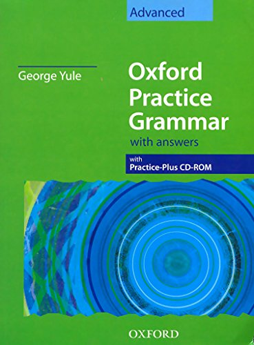 9780194309165: Oxford Practice Grammar: Advanced: with Answer Key and CD-ROM Pack (Oxford Practice Grammar Series)