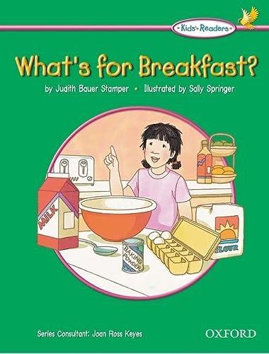 9780194309349: Kids' Readers: What's for Breakfast?