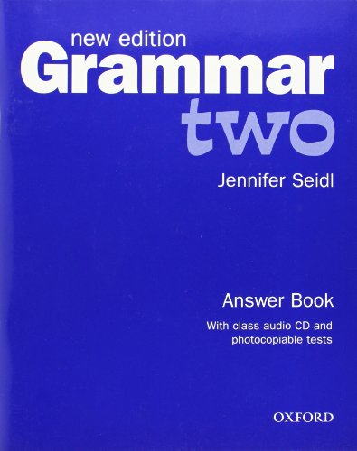 9780194309479: Grammar: Level 2: Answer Book and Audio CD Pack :