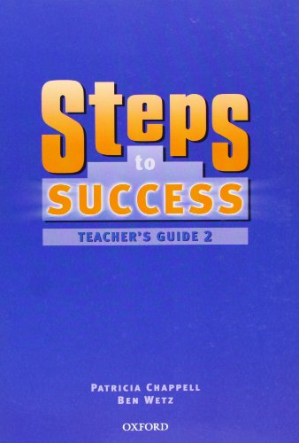 9780194310321: STEPS TO SUCCESS 2 TEACHERS GUIDE