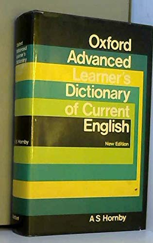 Oxford Advanced Learner's Dictionary of Current English (9780194311021) by A. P. Cowie; A. C. Gimson