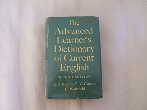9780194311137: Advanced Learner's Dictionary of Current English