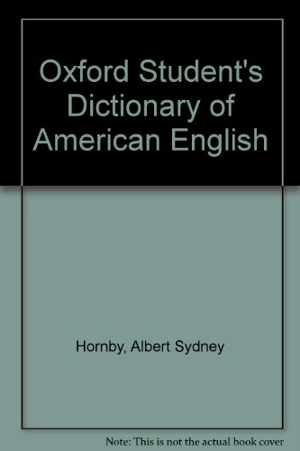9780194311403: Oxford Student's Dictionary of American English