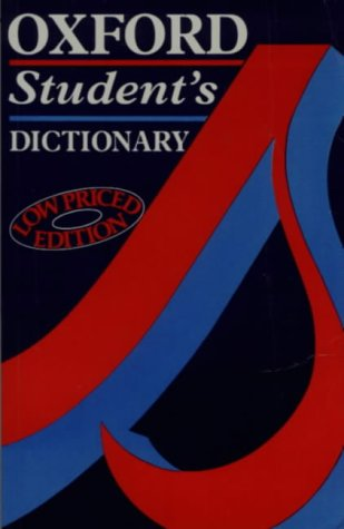 9780194311649: Oxford Students Dictionary