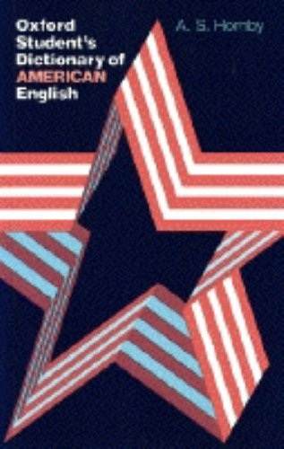 9780194311946: Oxford Student's Dictionary of American English