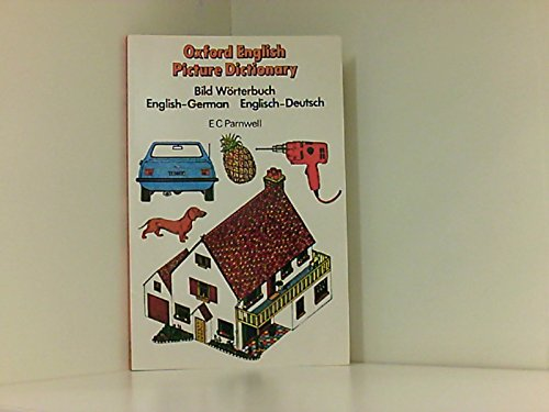 9780194312134: Oxford English Picture Dictionary: English-German