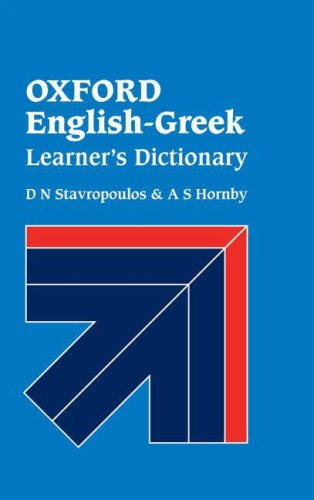 9780194312424: Oxford English-Greek Learner's Dictionary