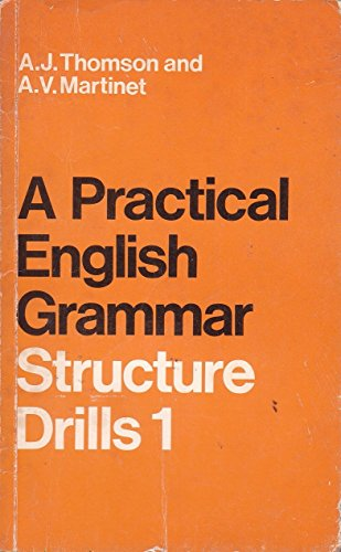 9780194313308: Practical English Grammar for Foreign Students: Bk. 1: Structure Drills