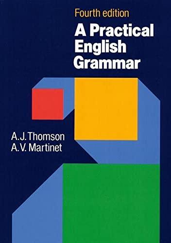 9780194313421: A Practical English Grammar