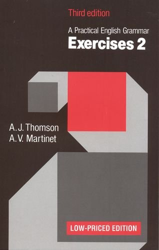 Practical English Grammar: Exercises 2 (Low-priced edition): Thomson, A. J.;