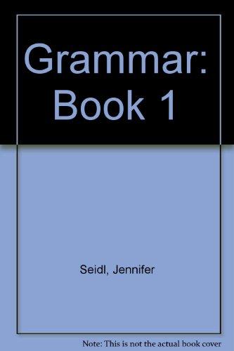 9780194313544: Grammar: Book 1