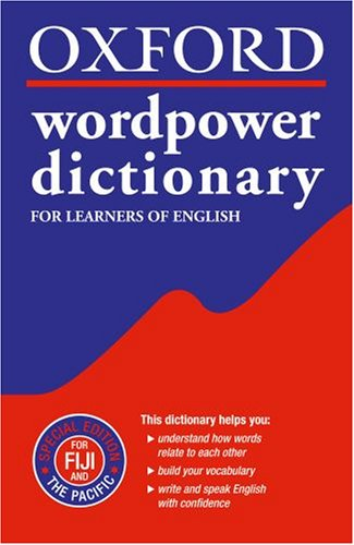 oxford wordpower dictionary  Oxford Wordpower Dictionary, Special Edition for Fiji and the ...