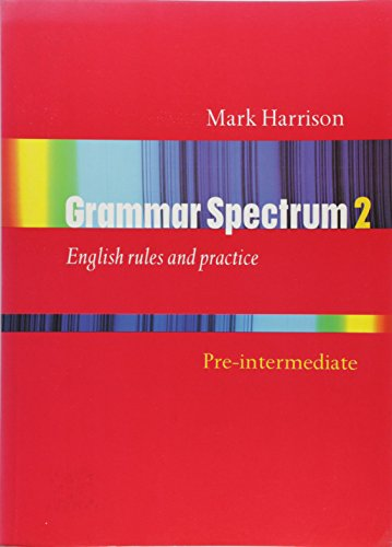 9780194314138: Grammar Spectrum: Pre-intermediate level (Bk.2)